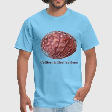 Abalone Shell California Red Abalone Diving - Men's T-Shirt