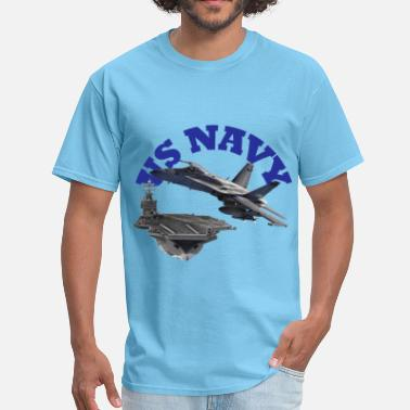 Carrier Hornet Over Carrier - Men's T-Shirt