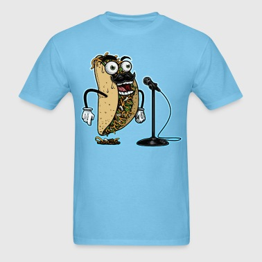 Stand Up Comedy or Karaoke Taco - Men's T-Shirt