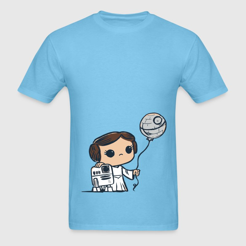 Cute Star Wars kids comic - Men's T-Shirt