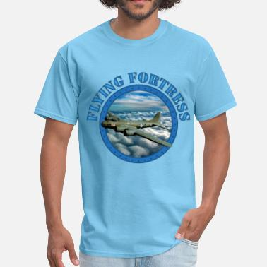 Wwii Flying Fortress - Men's T-Shirt