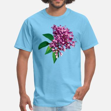 Fragrance Pink Lilac Clusters - Men's T-Shirt