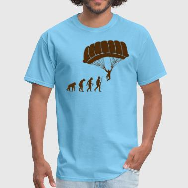 Free Base The Evolution of Skydiving - Men's T-Shirt