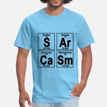 Ca Element of S-Ar-Ca-Sm sar - Men's T-Shirt