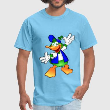 cartoon duck - Men's T-Shirt