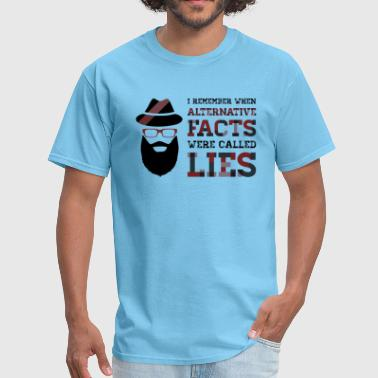 Alternative Facts - Men's T-Shirt