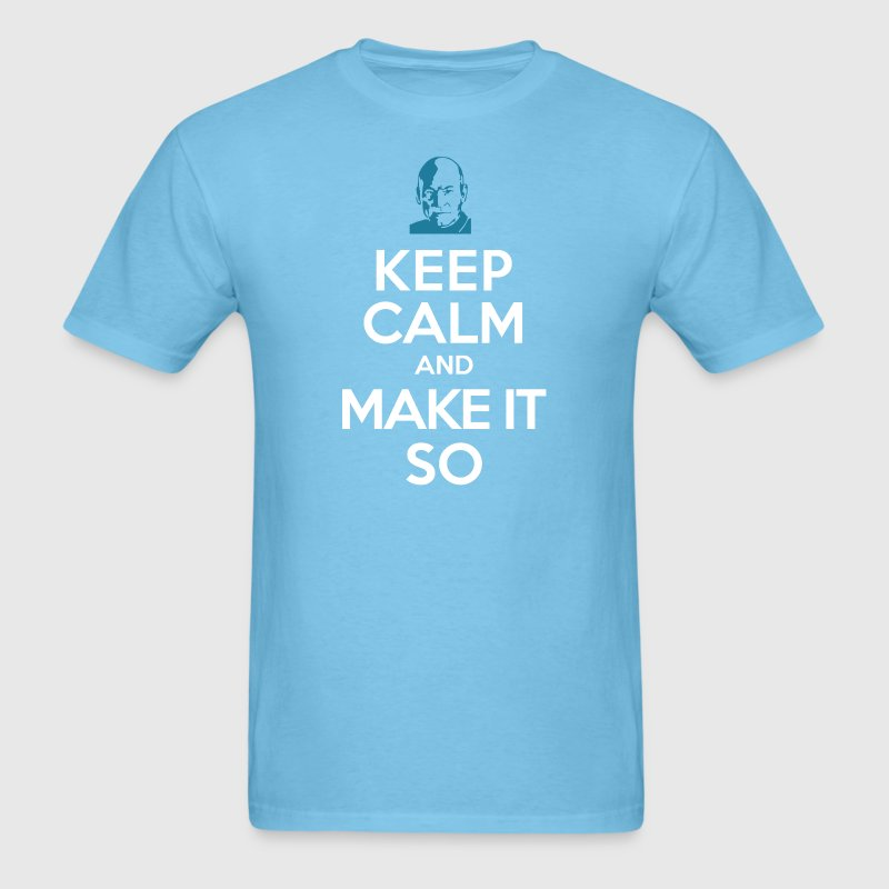 Make it so - Men's T-Shirt