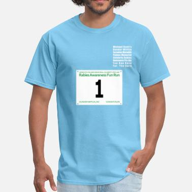Michael Michael Fun Run - Men's T-Shirt