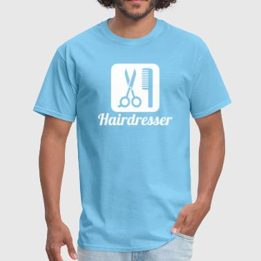 Hairdresser Girl Hairdresser - Men's T-Shirt