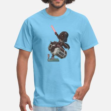 Princess Leia Star Wars Darth Vader as a child - Men's T-Shirt