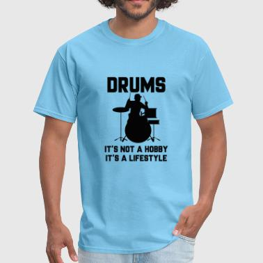 Drums It's A Lifestyle - Men's T-Shirt