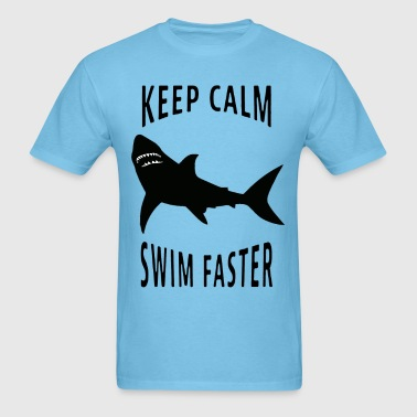 SWIM FASTER - Men's T-Shirt
