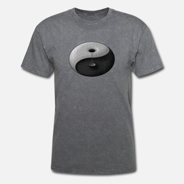 3D Ying Yang-1 - Men's T-Shirt
