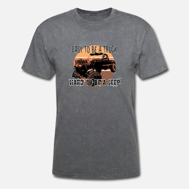 Comanche Easy to be a Truck, Hard to be a Jeep Retro - Men's T-Shirt