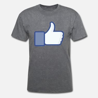 Facebook LIKE facebook style - Men's T-Shirt
