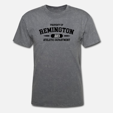 Shooting Club Property of Remington .223 Athletic Department - Men's T-Shirt