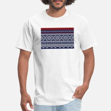 Marius pattern - Marius mønster - Men's T-Shirt