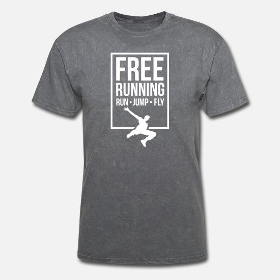 PARKOUR URBAN free running jumping climbing xmas birthday mens womens T SHIRT