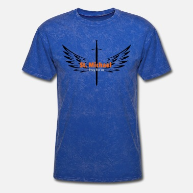 Catholic St. Michael Archangel - Men's T-Shirt