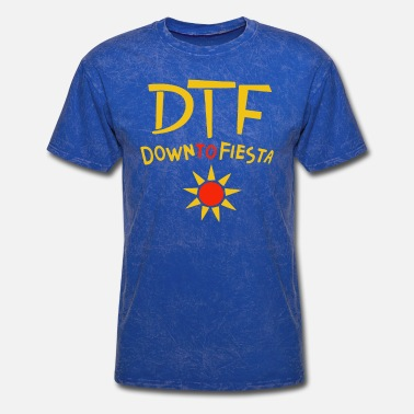 Brooklyn DTF Down to Fiesta T-Shirt Brooklyn Nine-Nine B99 - Men's T-Shirt