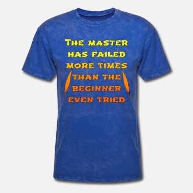 Failed master orange - Men's T-Shirt