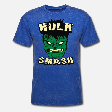 Hulk Angry Smash Hero - Men's T-Shirt
