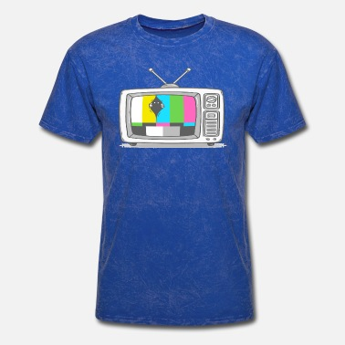 Geeks Watch Tv Watching TV - Men's T-Shirt