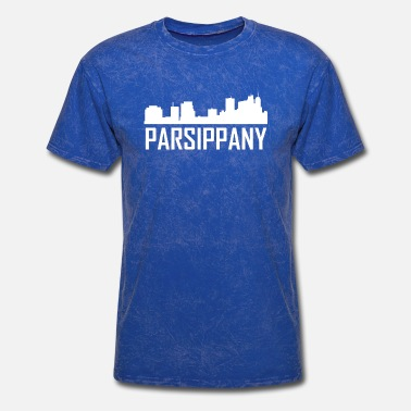 Parsippany Nj Parsippany New Jersey City Skyline - Men's T-Shirt