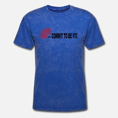 Commitment COMMIT TO BE FIT - Men's T-Shirt