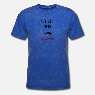 Open Source open to any proposal - Men's T-Shirt