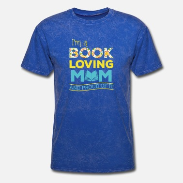 Read Across America Day book loving mom - Men's T-Shirt
