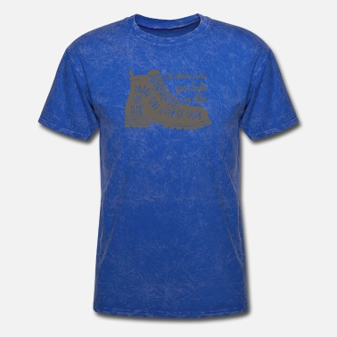 All The Paths All The Paths You Take In Life Hiking Shoe T Shirt - Men's T-Shirt