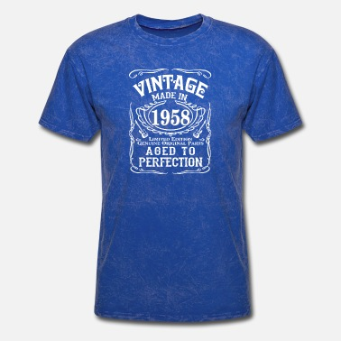 Limite Vintage Made in 1958 Genuine Original Parts - Men's T-Shirt