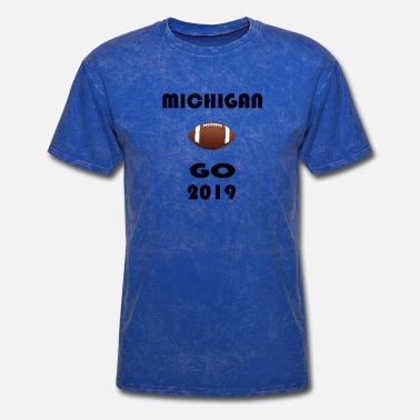 Michigan Football MoryLouie,Michigan go 2019, football - Men's T-Shirt