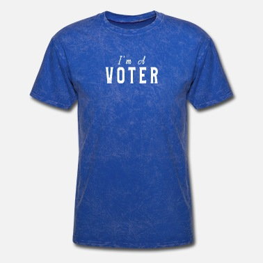 Bundestag Election I Am A Voter Midterm Election T-Shirt Great Gift - Men's T-Shirt