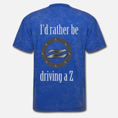 Nissan I'd rather be driving a Z - Men's T-Shirt