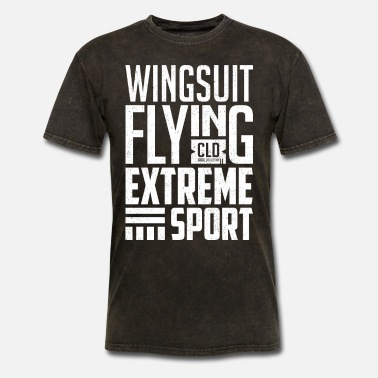 Wingsuit Flying Wingsuit Flying - Men's T-Shirt