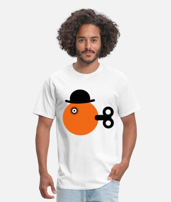 Sci-fi T-shirts - clockwise orange Women's T-Shirts - T-shirt Homme blanc