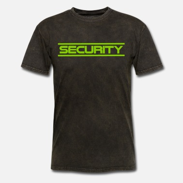 Event Staff SECURITY logo - Men's T-Shirt