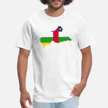 Central Europe central african republic - Men's T-Shirt