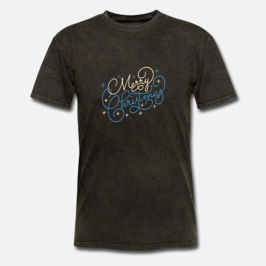 Quality Merry Christmas Typography - Men's T-Shirt