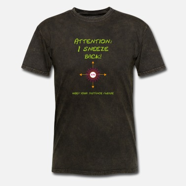 Sneeze I sneeze back – Coronavirus - Men's T-Shirt