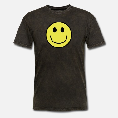 Happy Face Smiley face big smile - Men's T-Shirt