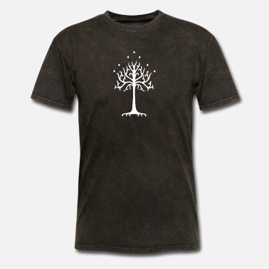 Tree White Tree of Gondor - Men's T-Shirt