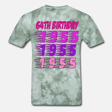 Bithday 64Th Bithday - Men's T-Shirt