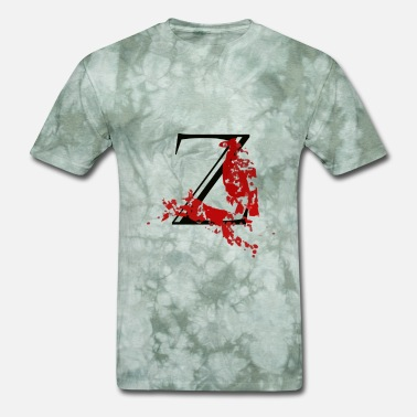 Dead Body zombie crow - Men's T-Shirt