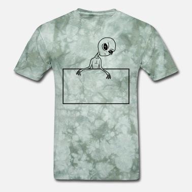 084824b4 name frame text write field area alien alien space - Men's T. Men's T- Shirt