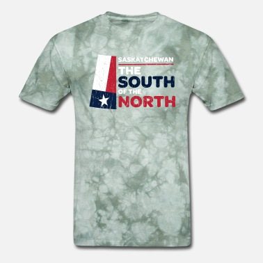 South Texas Saskatchewan: the South of the North (Texas ver) - Men's T-Shirt