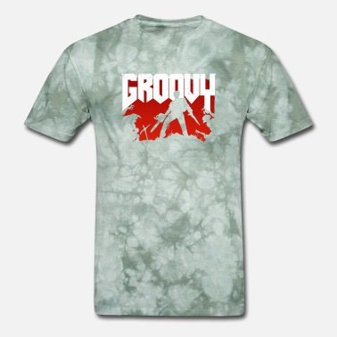 Bruce Doomy and Groovy - Men's T-Shirt