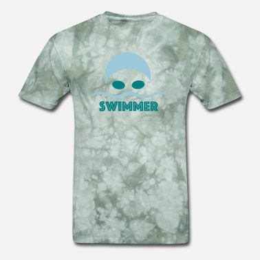 Swimming Funny swimming - Men's T-Shirt